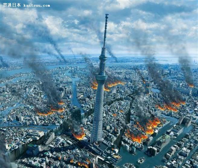 日本30年内,将会有7成机率在首都正下方发生地震。(图/东京新青年)