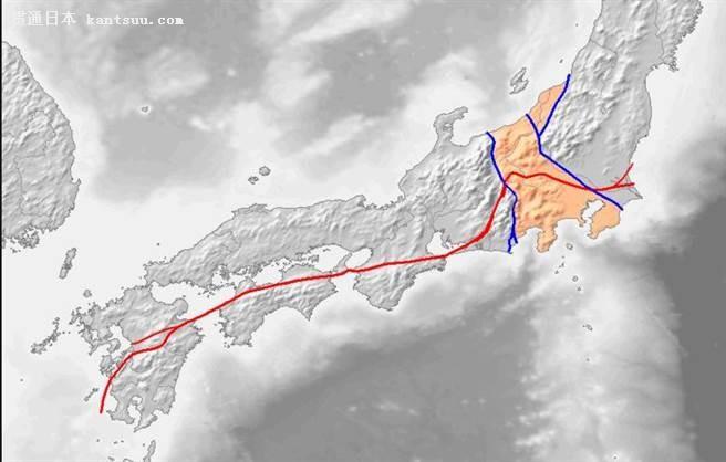 不少网友担心,大地震开始东移。(图/东京新青年)